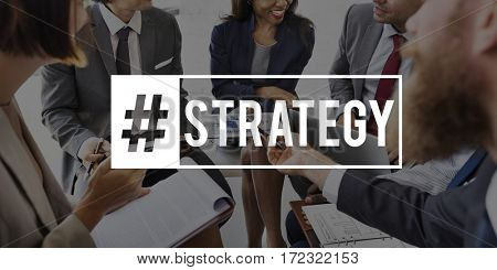 Business People Corporate Strategy Operation