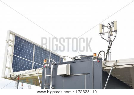 Solar Power or Solar Cell and Phone antenna