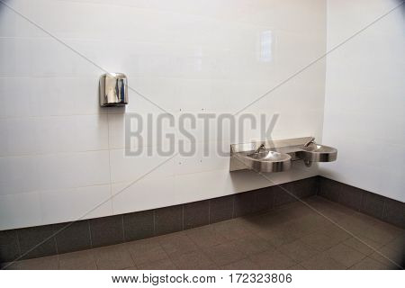Modern and clean toilet in western Countries
