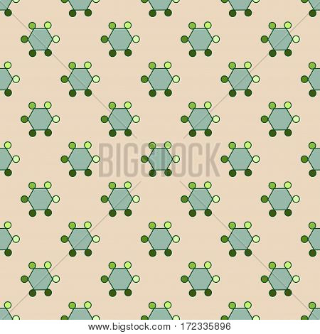 Geometric seamless pattern. Fashion graphic background design. Modern stylish abstract texture. Colorful template for prints textiles wrapping wallpaper website etc. Vector illustration