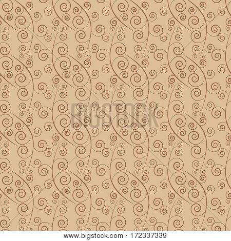 Twig seamless pattern. Fashion graphic background design. Modern stylish abstract texture. Monochrome template for prints textiles wrapping wallpaper website etc. Vector illustration