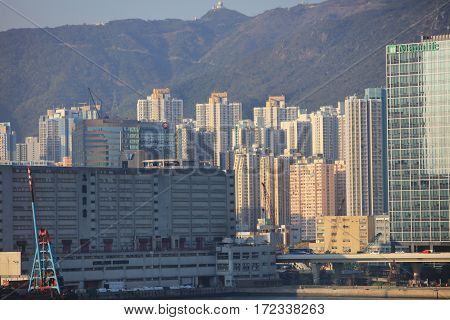 Cityscape Of The Kwun Tong
