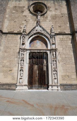 Gothic Church In Naples