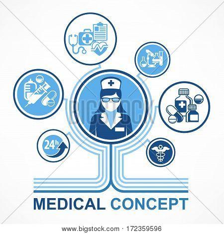 Medical Nurse Concept