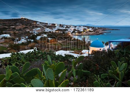 Stavros village on Donoussa island in Lesser Cyclades.