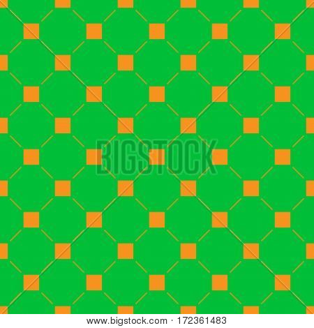 Square and line seamless pattern. Fashion graphic background design. Modern stylish abstract texture. Color template for prints textiles wrapping wallpaper website. Stock VECTOR illustration