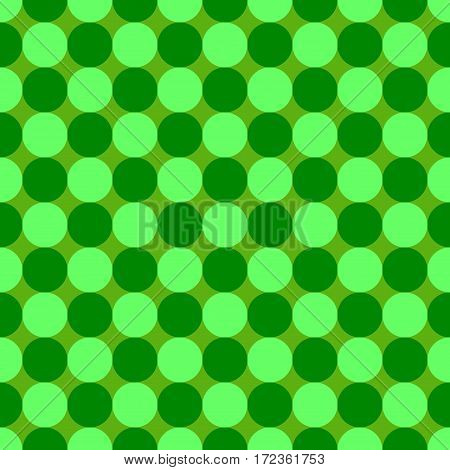 Polka dot geometric seamless pattern. Fashion graphic background design. Modern stylish abstract color texture. Template for prints textiles wrapping wallpaper website. VECTOR illustration