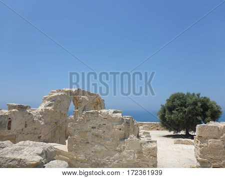 Summer trip: ancient ruins in Kourion, Cyprus