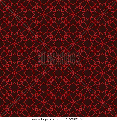 Lace seamless pattern. Fashion graphic background design. Modern stylish abstract colorful texture. Template for prints textiles wrapping wallpaper website. Stock VECTOR illustration