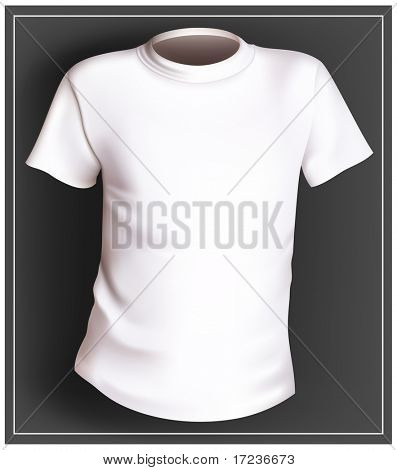 Vector white T-shirt