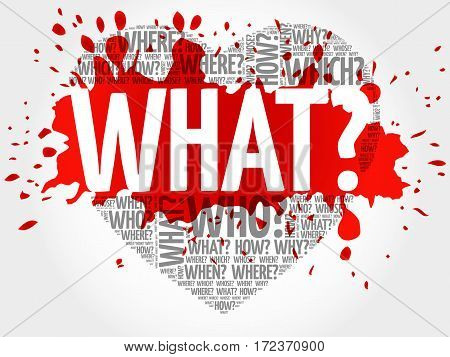 What? Question Heart