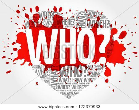 Who? Question Heart