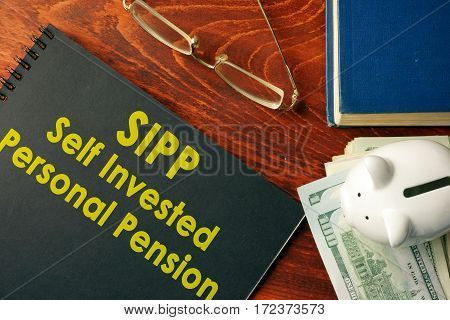 Book with title SIPP (Self Invested Personal Pension)