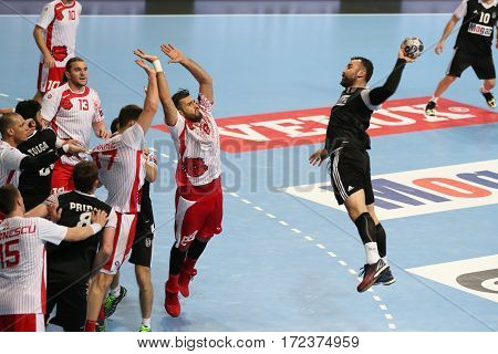 Besiktas Mogaz Ht And Dinamo Bucuresti Handball Match