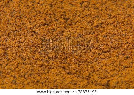 Texture Of Close Up Spices