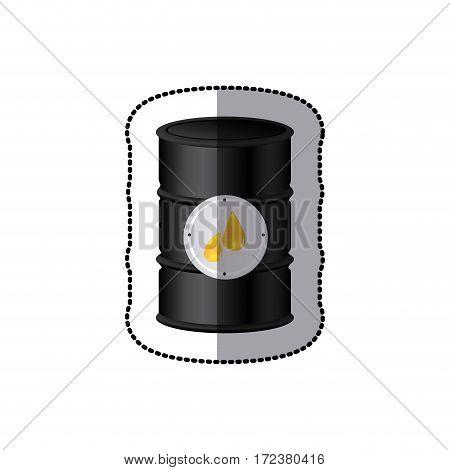 oil tank icon stock image, vector illustration design
