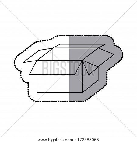box open icon stock image, vector illustration design