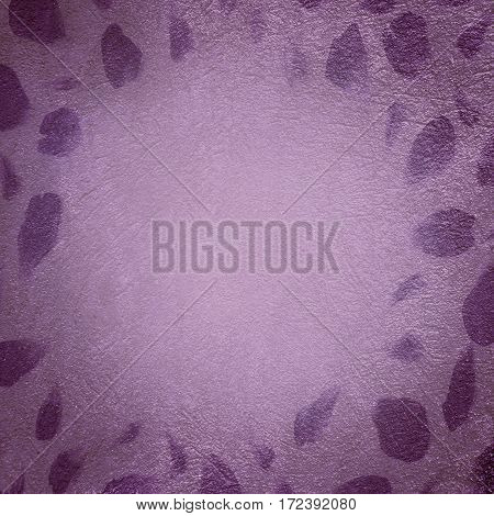 Art Abstract Decorative purple Background. Beautiful grunge Rough Stylized Texture Or Square Wallpaper With Copy Space For Desing