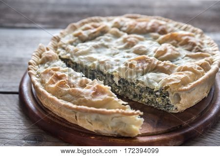 Spanakopita - Greek Spinach Pie
