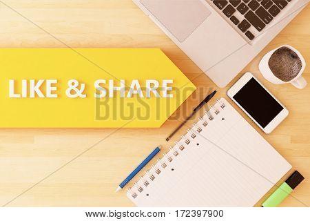 Like And Share
