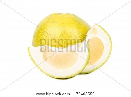 Fruit Oroblanco With Slice