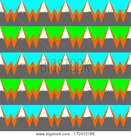 Seamless retro basic pastel geometric repeat pattern. Vector illustration for your design.