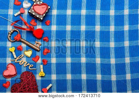 Valentines Set With Small Decorations