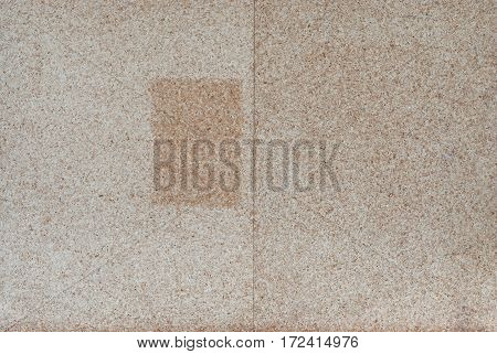Closeup to Particle MDF Wood Board .