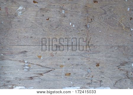 Closeup to Dirty Plywood Background or Texture