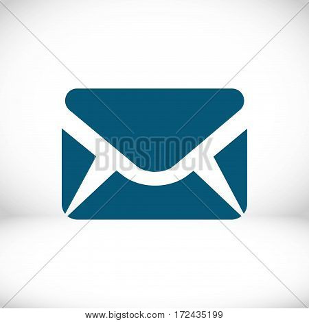 Envelope Mail icon, vector illustration. Flat design style