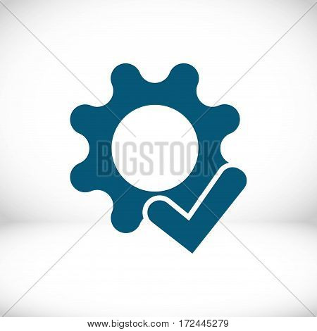 screwdriver icon stock vector illustration flat design