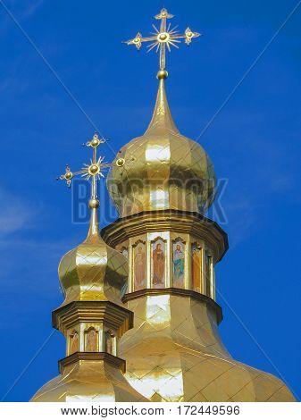 Ukraine. Kiev. Kiev-Pechersk Lavra. The main attraction of Kiev