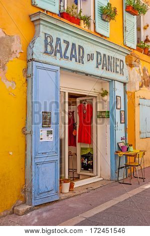The Shops Of Panier