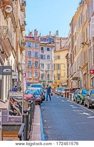 The Hilly Streets Of Marseille