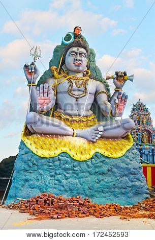 The Statue Of Lord Shiva
