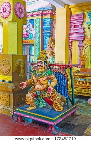 The Garuda Statue