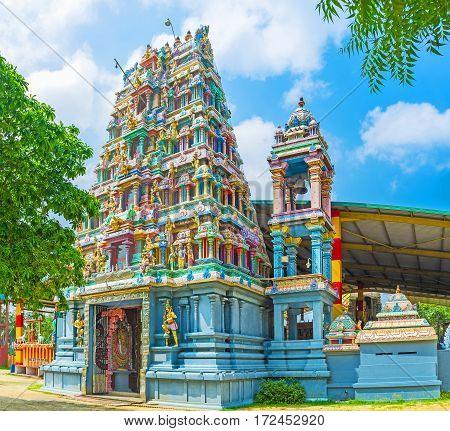 The Entrance To Murugan Temple