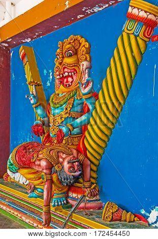 Narasimha In Munneswaram Kovil