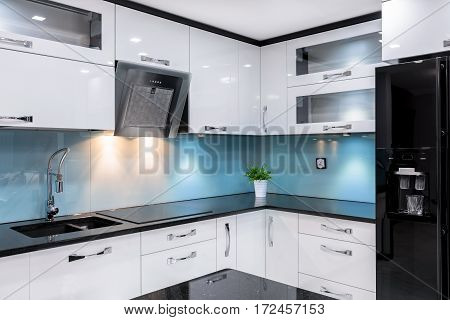 Luxury Kitchen In Apartment