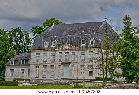 Jumieges France - june 22 2016 : the Saint Pierre abbey