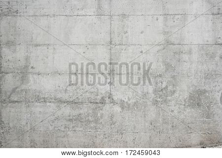 Abstract grungy empty background.Photo of gray natural concrete wall texture. Grey washed cement surface.Horizontal