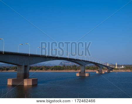 Third Thai-Lao Friendship Bridge is a bridge over the Mekong that connects Nakhon Phanom Province in Thailand.