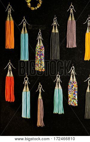Selection Of Curtain Tassel In Various Colors