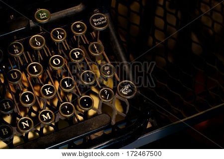 Old Vintage Typewriter Machine