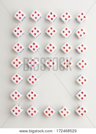 Space Four Cross Pattern