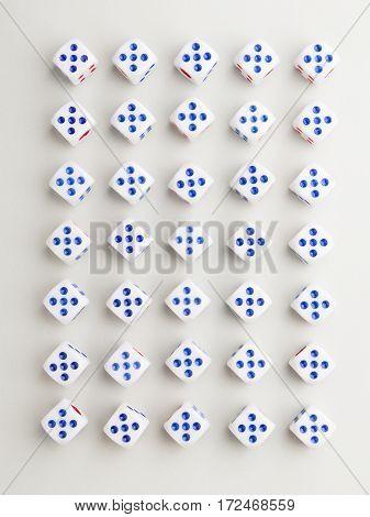 Full Five Cross Pattern
