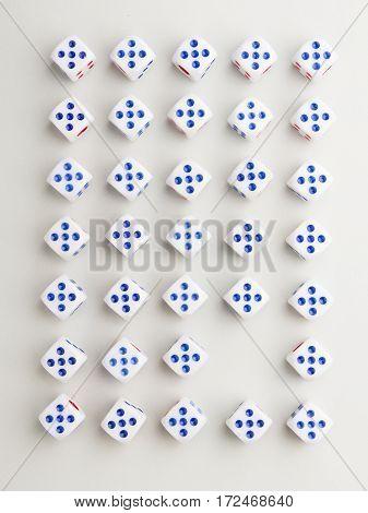 Blank Five Cross Pattern
