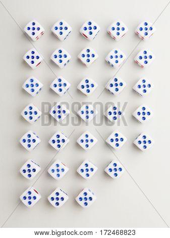 Cut Five Cross Pattern