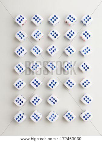 Blank Six Cross Pattern