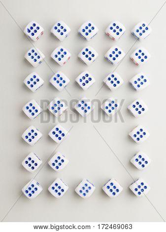 Space Six Cross Pattern